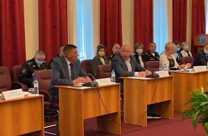 Исполняющий полномочия Главы Норильска Николай Тимофеев принял участие во встрече арктической группировки Северного флота в Дудинке