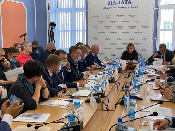 Исполняющий полномочия Главы города Норильска Николай Тимофеев принял участие в общественных обсуждениях последствий аварии на ТЭЦ-3