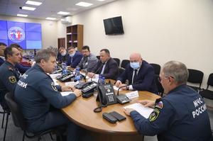 Исполняющий полномочия Главы города Норильска Николай Тимофеев принял участие в совещании по завершению основных мероприятий по проведению аварийно-спасательных работ