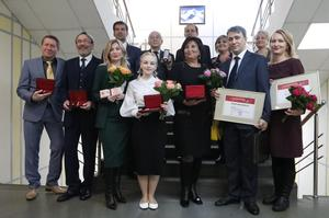 Церемония вручения государственных наград Российской Федерации и наград Красноярского края